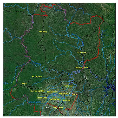 Still-Creek-Catchment-Boundary-Map
